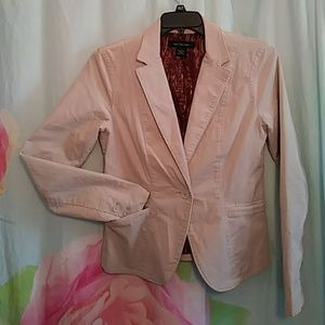 Calvin Klein Jeans Tan Lightweight Blazer Jacket